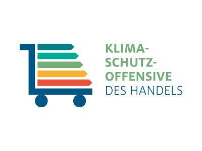logo Klimaschutzoffensive des Handels